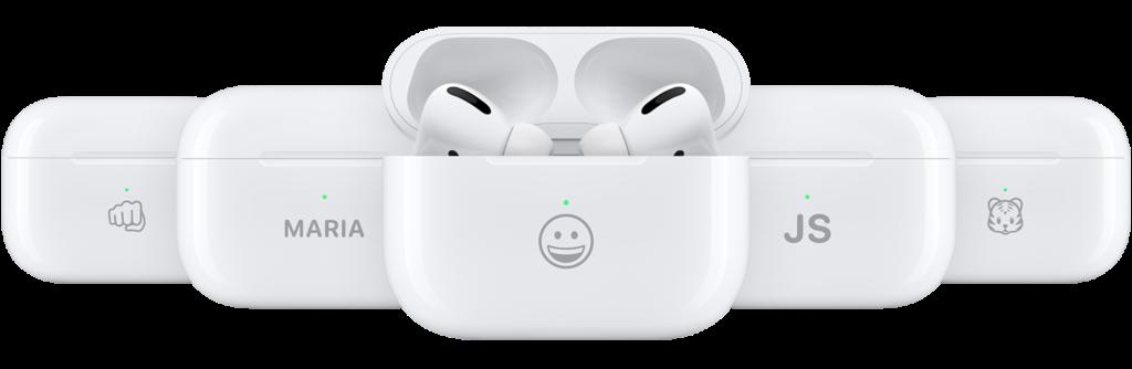12 AirPods Pro emoji engraving 2