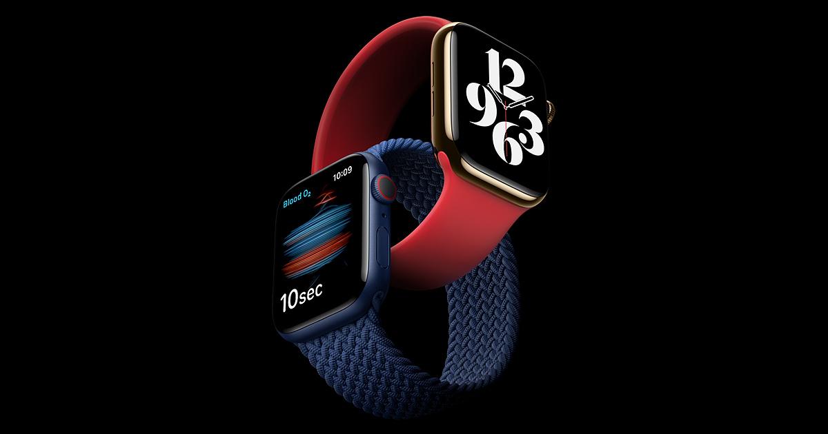 apple watch 6s 202009